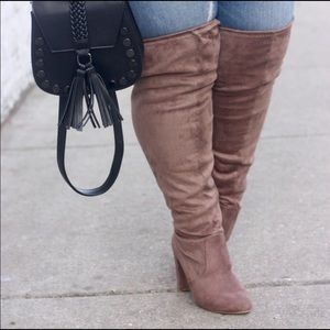 Shoes - Wide Calf Thigh High Boots (Never worn)